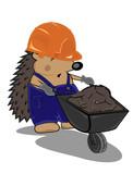 hedgehog builder with cart