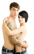 Glückliches junges Paar