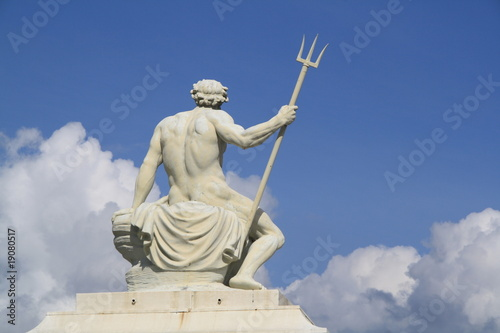 Leinwanddruck Bild Poseidon - Gott des Meeres
