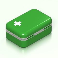 Erste Hilfe Kasten 3D - 02