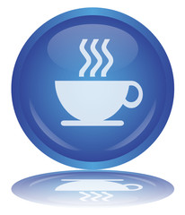 """Coffee Break"" Button - Bouton ""Pause Café"" (Cup - Vector)"