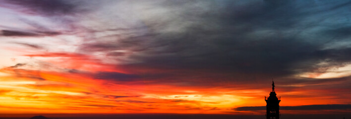fuoco in cielo