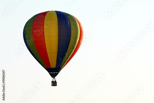Deurstickers Ballon Mongolfiere #5
