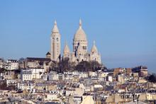 Sacred Heart zobaczyłem dachy Paryża