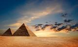 Fototapete Egyptian - Pyramiden - Historische Bauten