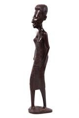 statuetta di legno