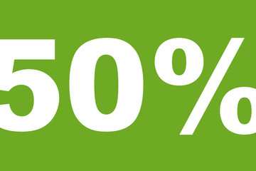 50 Prozent