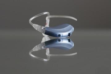 Hörgerät - gaublau