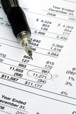 Find a mistake when auditing the financial statement poster