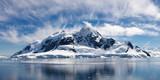 Fototapety Paradise Bay, Antarctica - Majestic Icy Wonderland