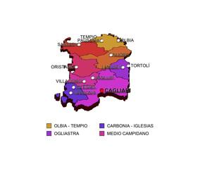Regione Sardegna: Province