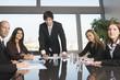 Schulung eines Businessteams