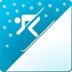 Ski-Schnee