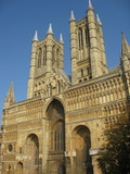 Catedral de Lincoln, East Midlands, Inglaterra poster
