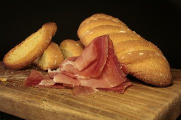 bread and speck