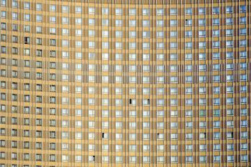 Monotonous facade