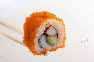 sushi futomaki surimi avocado