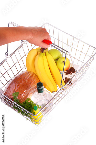 Shopping Basket of Food