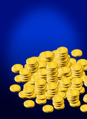 Gold dollar coins