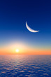 Moon over Sunrise