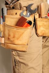 handwerker werkzeug gürtel