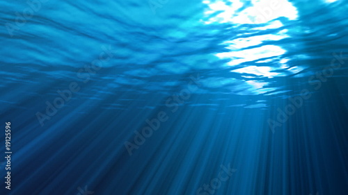 Tuinposter Koraalriffen Underwater