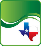 texas state green wave backdrop poster
