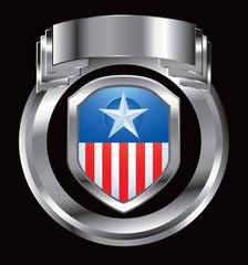 patriot shield silver crest