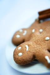 Smiling ginger bread