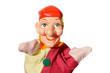 Leinwanddruck Bild - Kasperle-Puppe