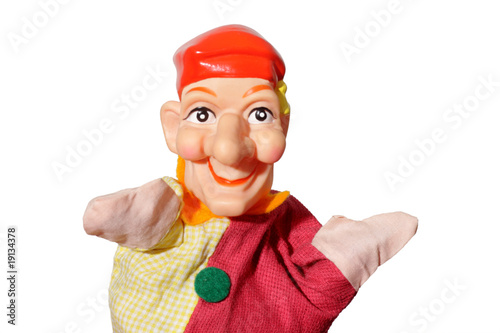 Leinwanddruck Bild Kasperle-Puppe