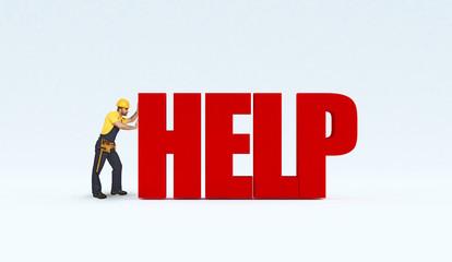 manual worker need help