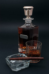 Whisky e sigaro