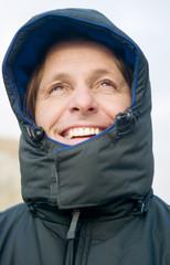 happy smiling adventurer