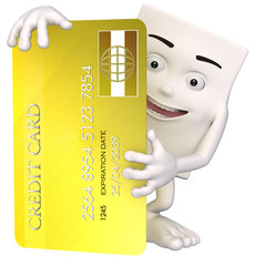 Sympaticus with credit card