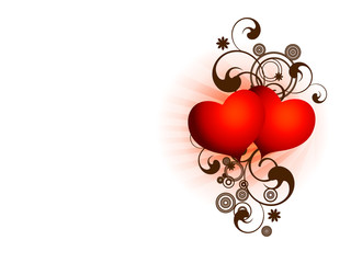 San valentine two hearts