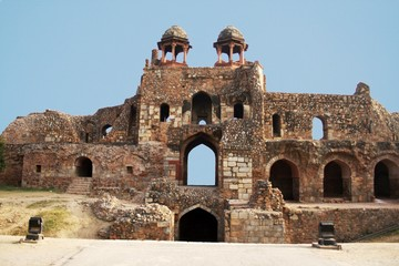 Humayun Gate at Old Fort, New Delhi