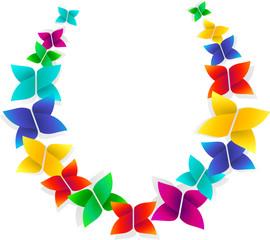 Schmetterlinge im Kreis