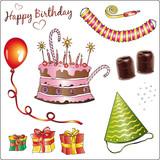 Geburtstag, Birthday, Feier, Fest, Geburtstagsfeier, Party poster