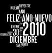 Feliz Año Nuevo ! 2010