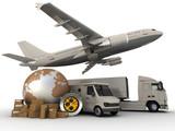 Fototapety Transportation process
