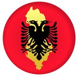 button Albania poster