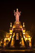 Постер, плакат: Monument to Sacred Ekaterina in the city of Krasnodar Russia