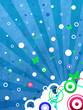 Flyer Background blue