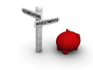 Choice in favour of investments