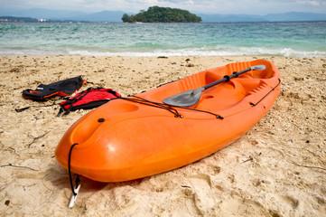 Orange Kayak