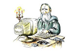 The ancient writer behind the computer