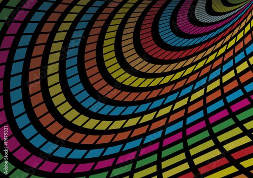 techno rainbow background - photo #24