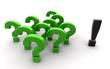 Frage Antwot grün