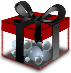 Cadeau: Eau précieuse.